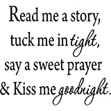 VWAQ Read Me A Story, Tuck Me In Tight, Say A Sweet Prayer U0026