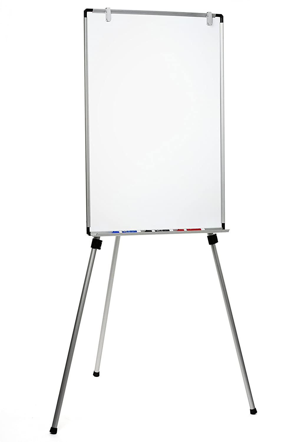 Magnetic Dry-Erase Board Lightweight Aluminum Flip Chart Presentation Easel (23 x 34) Audio-Visual Direct
