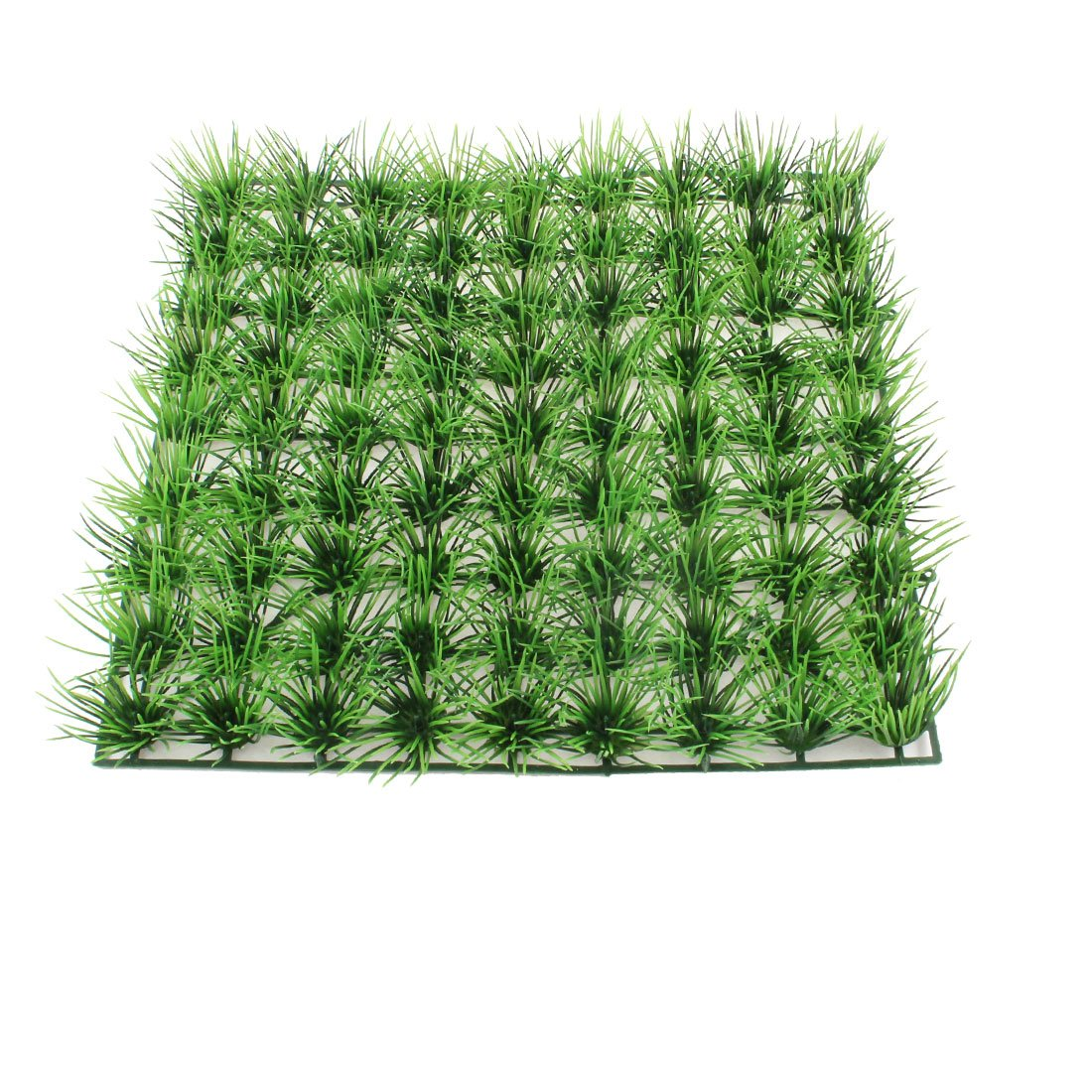 uxcell 人工水草 水槽用 アクアリウム 装飾 グリーン プラスチック グラス 人造 ローン 25 x 25cm B013Y63BOS type4 type4
