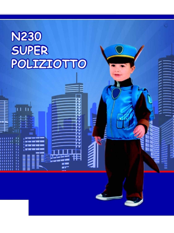 COSTUME SUPER POLIZIOTTO 18 MESI