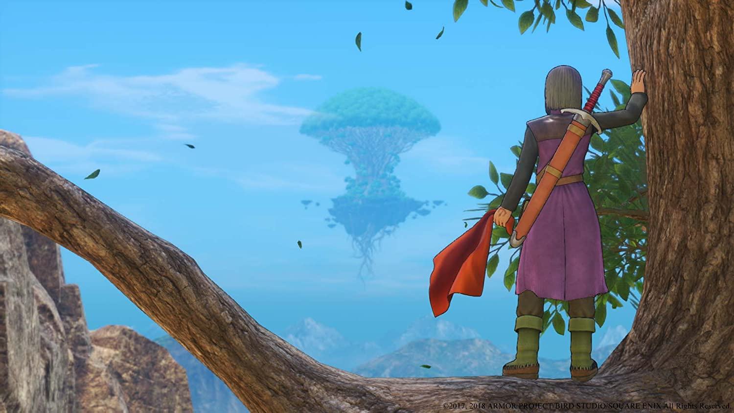 dragon quest 11 temple of lost time