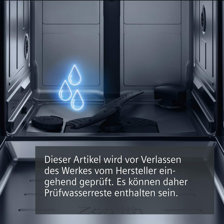 2660 L//jahr Wei/ß 188 kWh//Jahr Siemens SR256W01TE Geschirrsp/üler Freistehend A+++ AquaStop DuoPower-Doppelspr/üharm