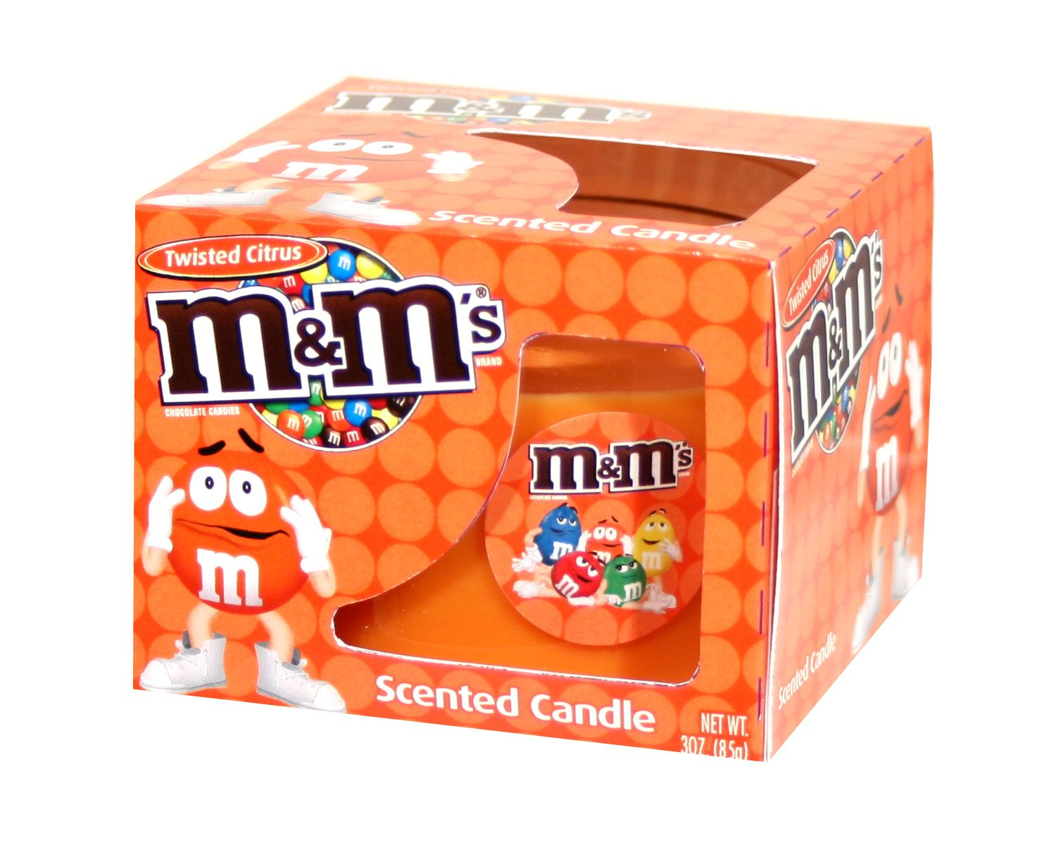 Amazon.com: M&M Boxed Scented Candles, Red Hot Apple Cinnamon: Home & Kitchen