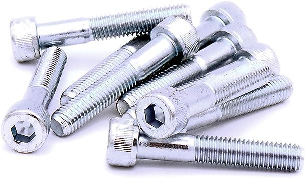 Tornillos de cabeza hexagonal M8 (8 mm x 45 mm) – Acero (Pack de ...