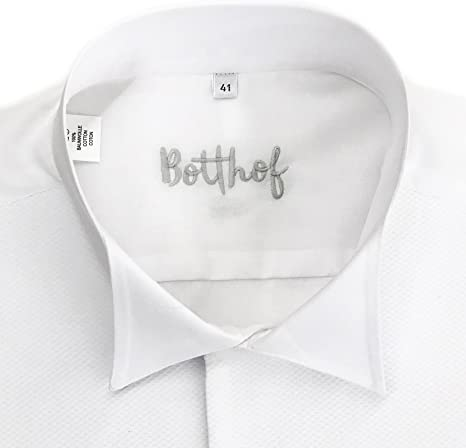 Botthof - Camisa de Vestir - Cuello ópera - para Hombre