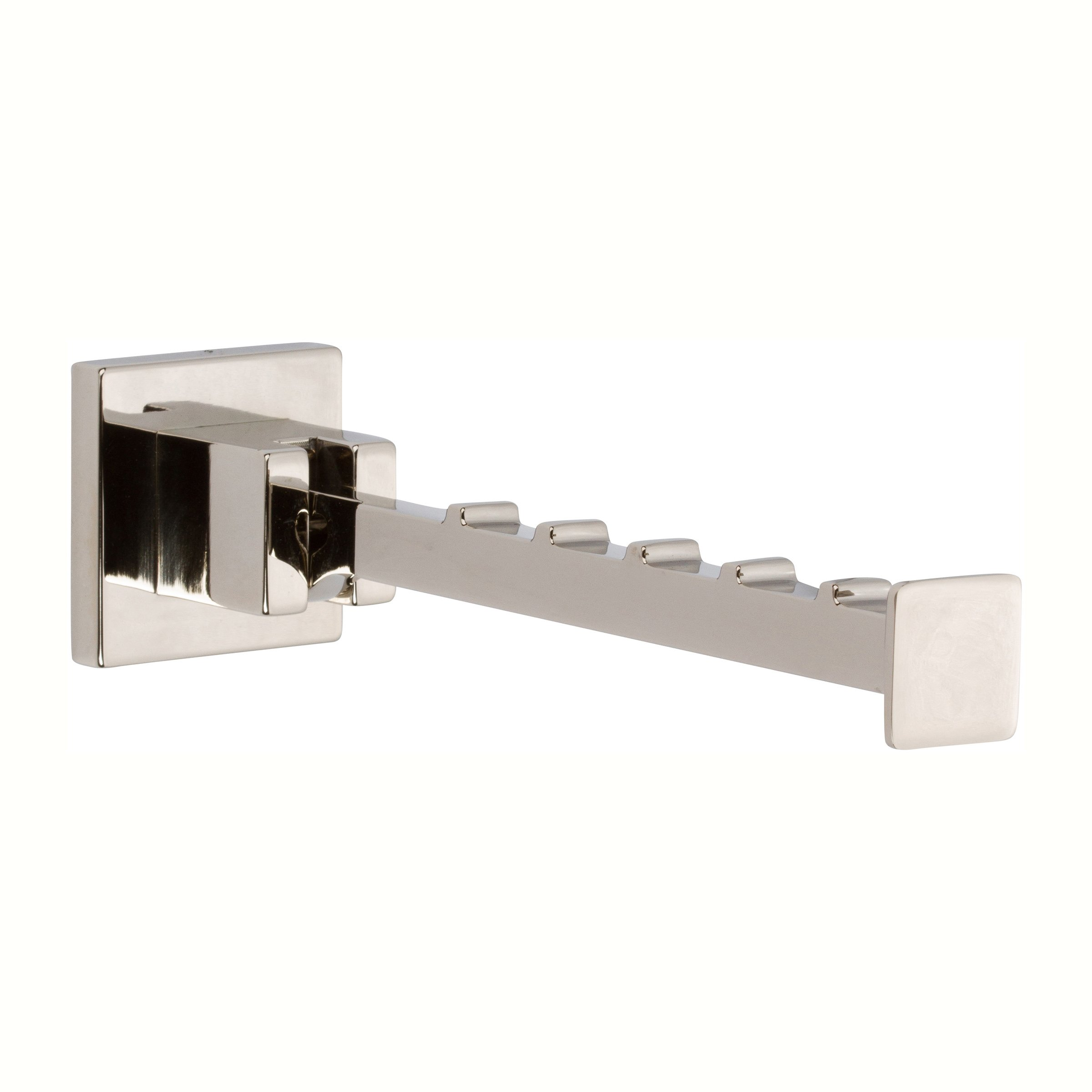 Ginger 5217/PN Lineal Valet Hook 5217, Polished Nickel