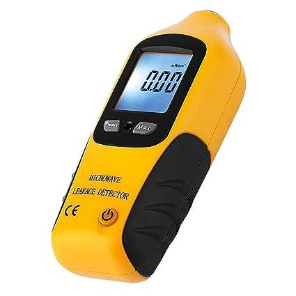 Profesional de fuga de radiación Detector probador con luz y alarma incorporado, rango de medición