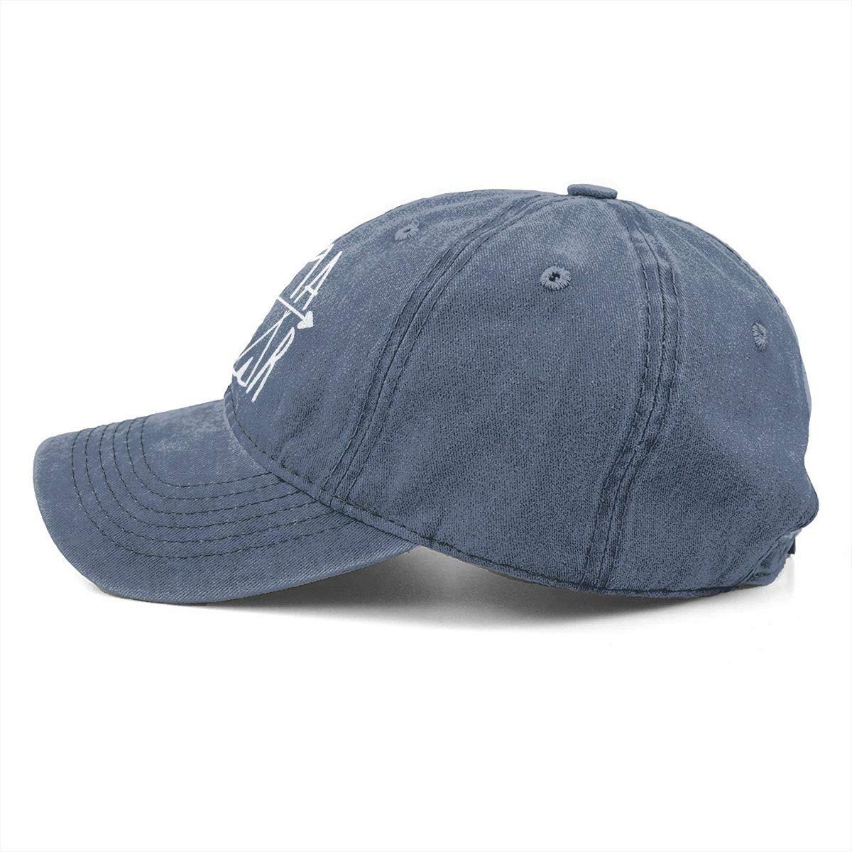 OASCUVER Mama Bear Denim Hat Adjustable Female Stretch Baseball Hats