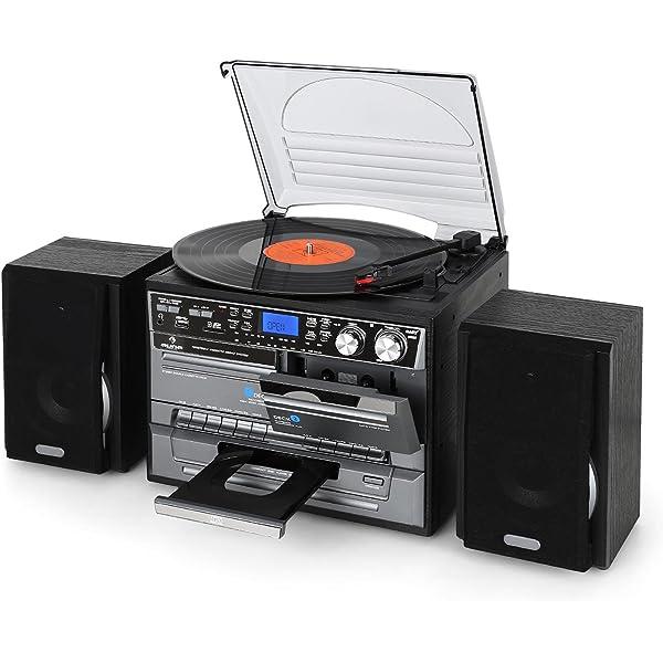 Dual NR 110 - Minicadena sistema compacto con tocadiscos con ...
