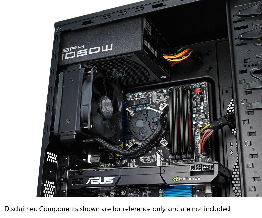 Cooler Master Seidon 120XL Procesador - Refrigeración (Procesador, 40 dB, 4 pines, 1 Ventilador(es), 600 RPM, 2400 RPM): Amazon.es: Informática