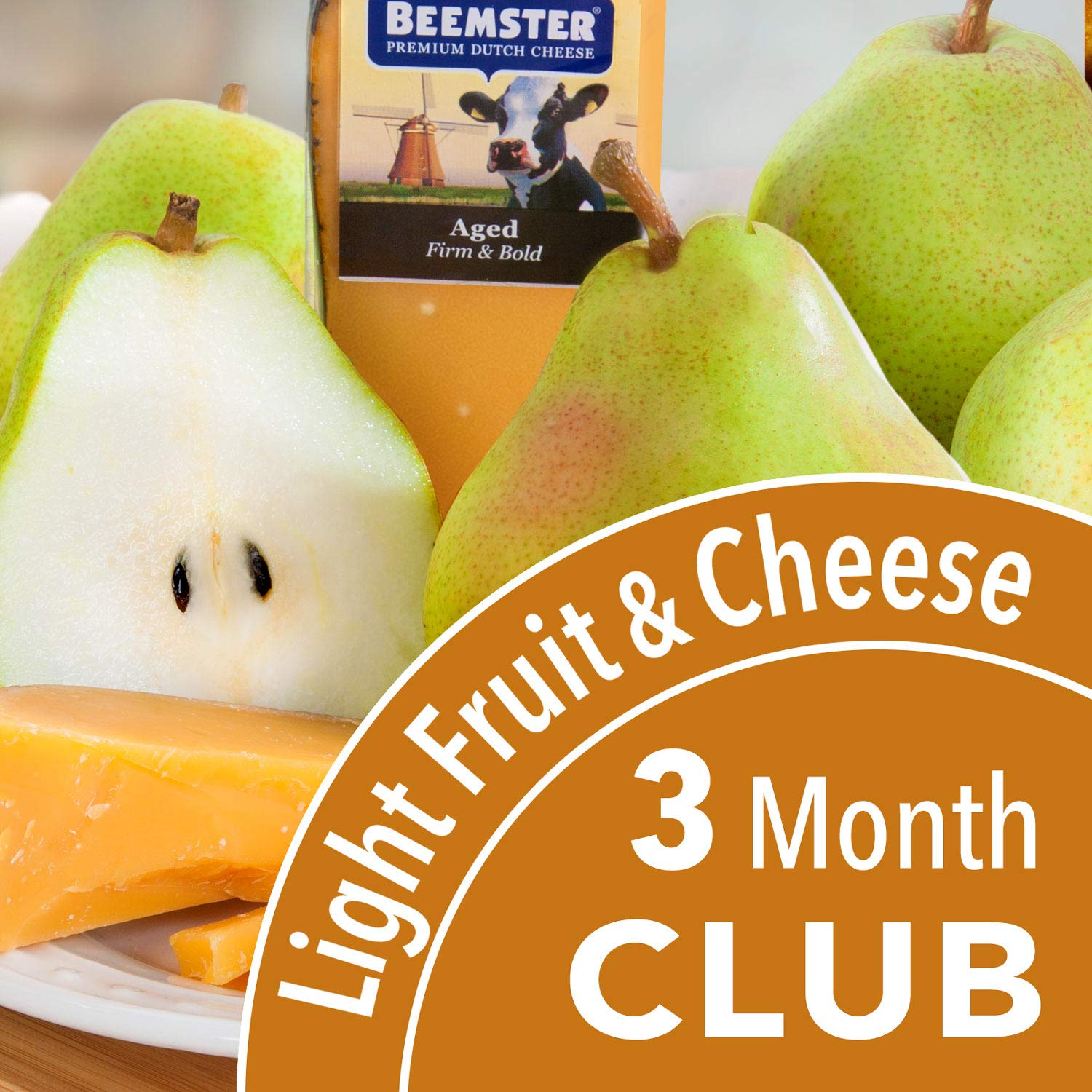 Golden State Fruit Monthly Fruit and Cheese Club (Light Version) - 3 Month Club