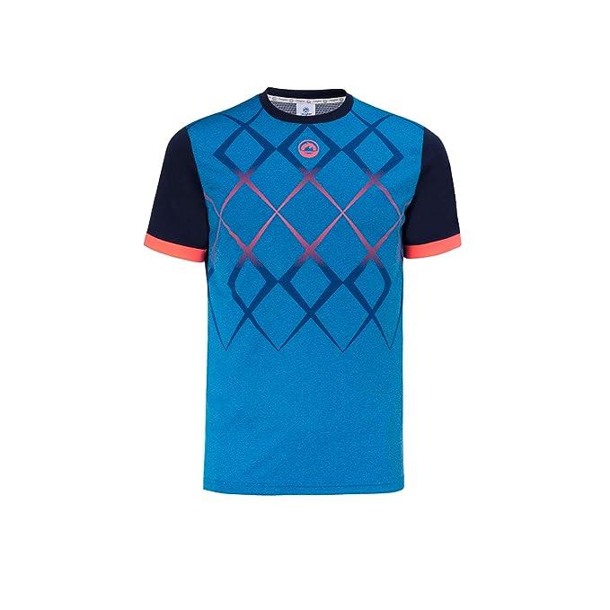 JHAYBER Camiseta Manga Corta Hombre Técnica Tenis Padel ...