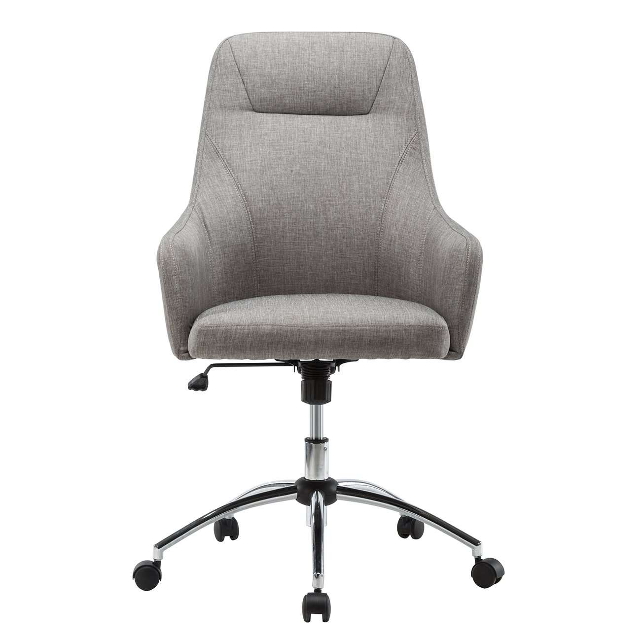 Etonnant Amazon.com: Techni Mobili Comfy Height Adjustable Rolling Office Desk Chair  W/Wheels: Kitchen U0026 Dining