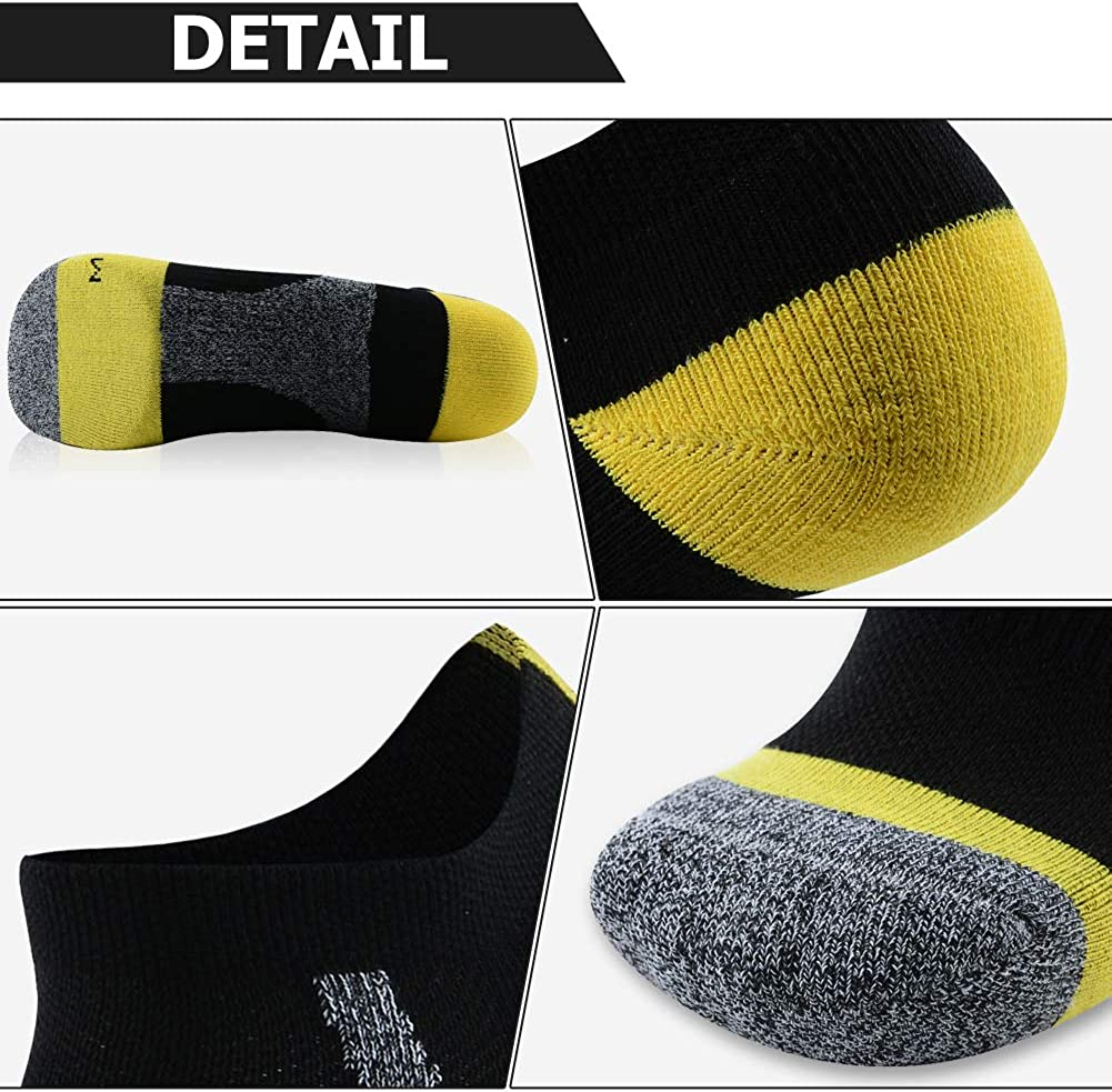MK MEIKAN Womens Girls Low Cut Breathable Athletic Sports Running Hiking Ankle Socks 3//6 Pairs