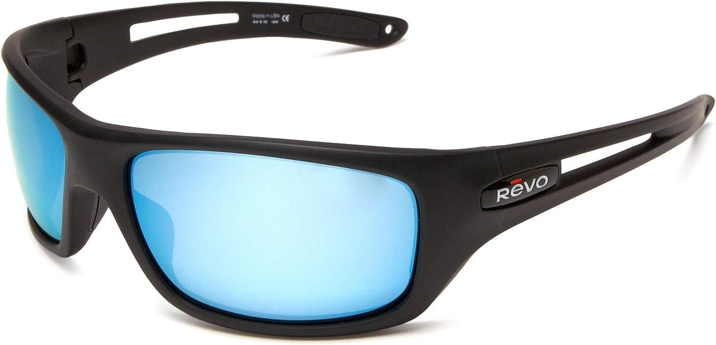 743122986a Amazon.com  Revo Guide 4054-07 Polarized Round Sunglasses