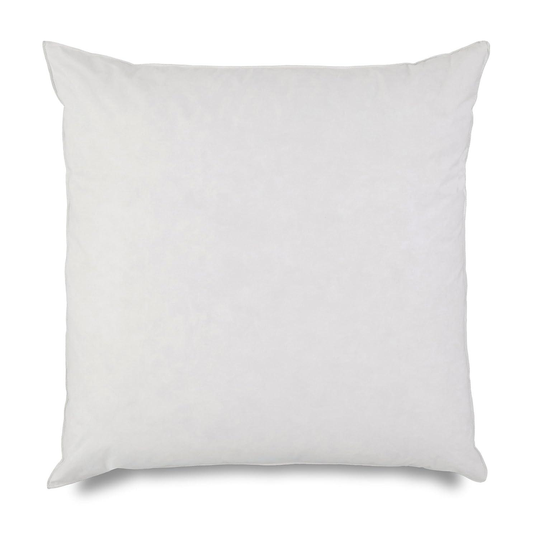 欧州枕挿入by Martex – 26-inch euro-sizedスクエアクッション、シャム詰め物、ソフト、しっかりサポート、ベッドルーム – ホワイト B01N6WUMGS