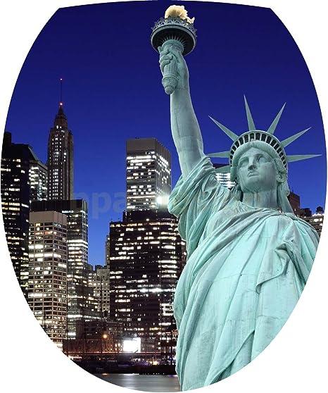 sticker autocollant statue de la liberté New york