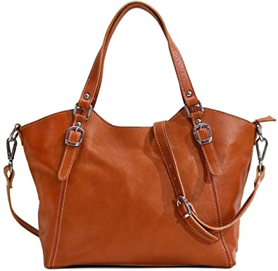 57968520821b Floto Ischia Leather Shoulder Bag Handbag Purse  Handbags  Amazon.com