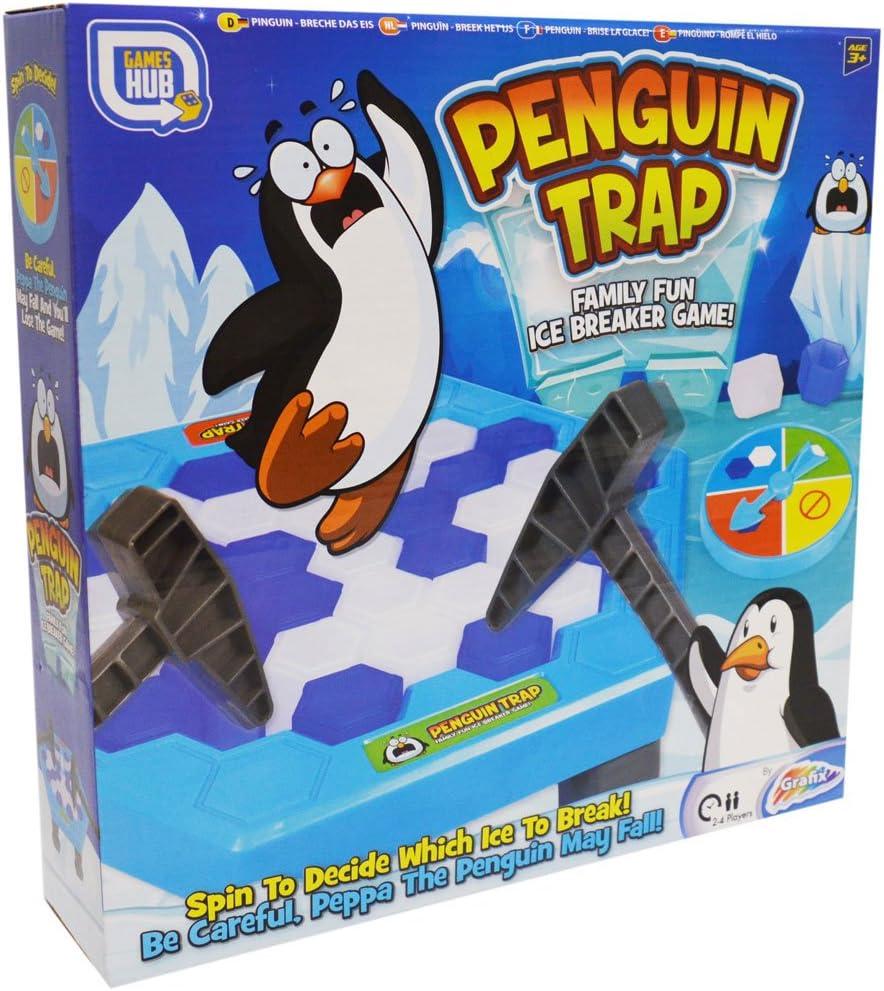 Penguin Trap Ice Breaker Juego de mesa familiar para niños: Amazon.es: Juguetes y juegos