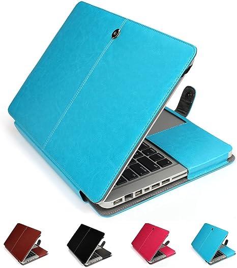 13.3 inch Macbook Air-Pink GranVela MacBook Notebook Premium Quality PU Leather Sleeve bag Skin Case Cover for Apple 13