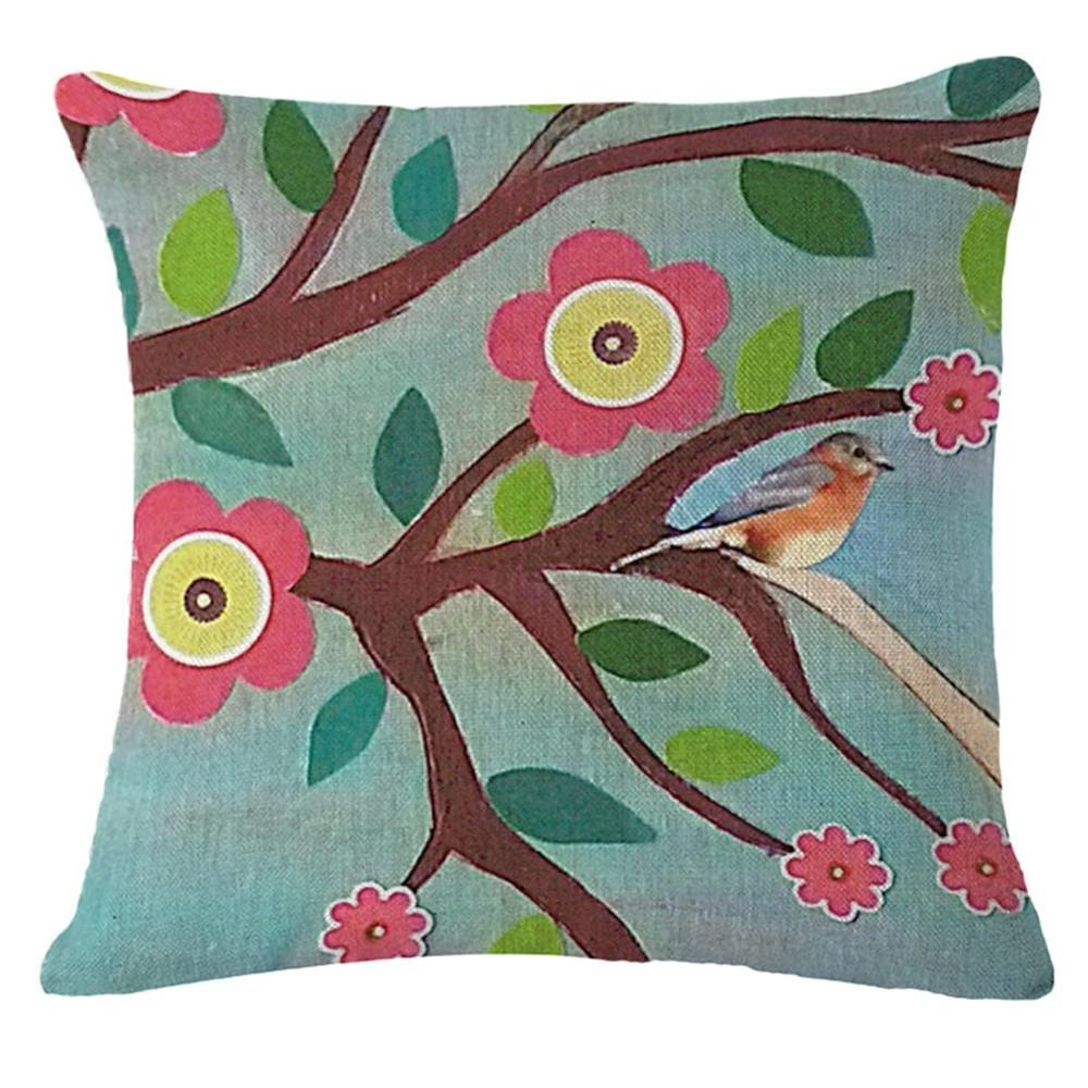 Modern creative simple car cushion waist Pillow Home Office sofa Decoration Pillow