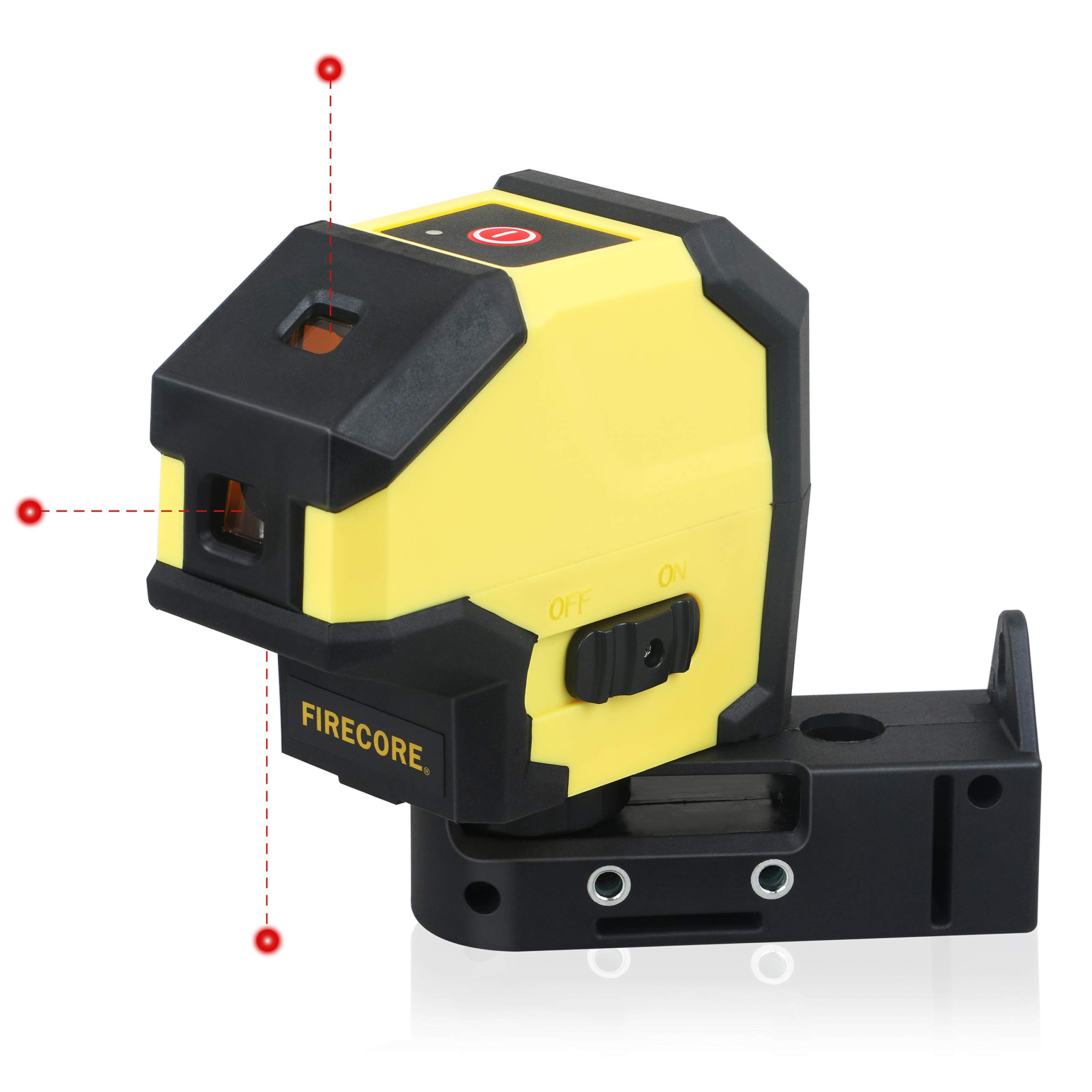New Firecore Laser Plumb Bob 3 Point Red Beam Alignment Laser FP-3R