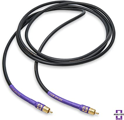 Analysis Plus Oval One Audio Interconnect Cables RCA 1.5 Meters