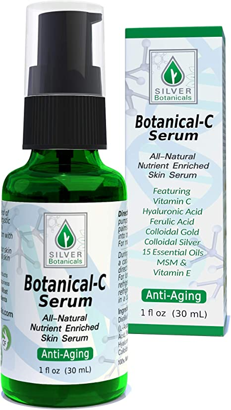 Amazon Com Botanical C Serum All Natural Vitamin C Skin Serum