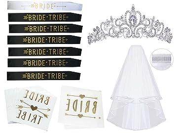 Amazon.com  Bachelorette Party Decorations Kit – 21pc – Party ... 95a7a7953cb1