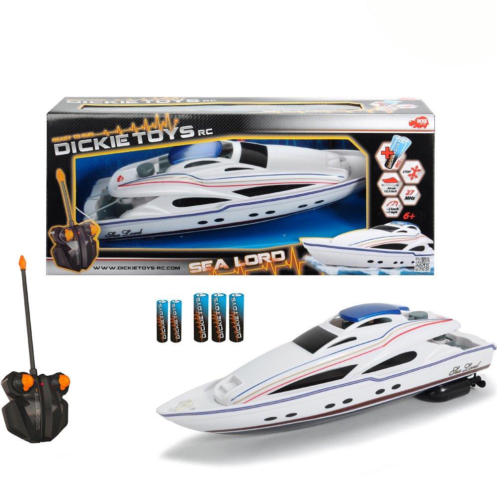 #0618 RC Motorboot Sea Lord mit 2-Kanal Funkfernsteuerung, 27MHz Frequenz, 34cm • Spielzeug Ferngesteuertes Boot Modellboot H-Collection