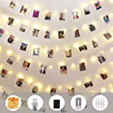 Innotree Fairy Lights USB Plug In 33Ft 100 LED Warm White Waterproof Starry String Lights for Bedroom Indoor Outdoor Decorative