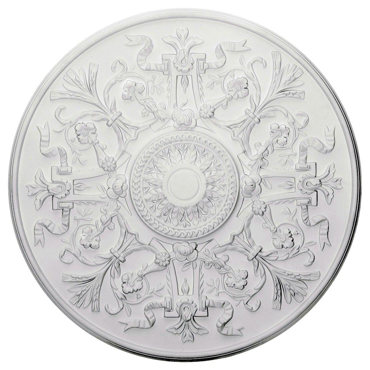 Ekena Millwork CM33VE 33-Inch OD x 1 3/4-Inch P Versailles Ceiling Medallion