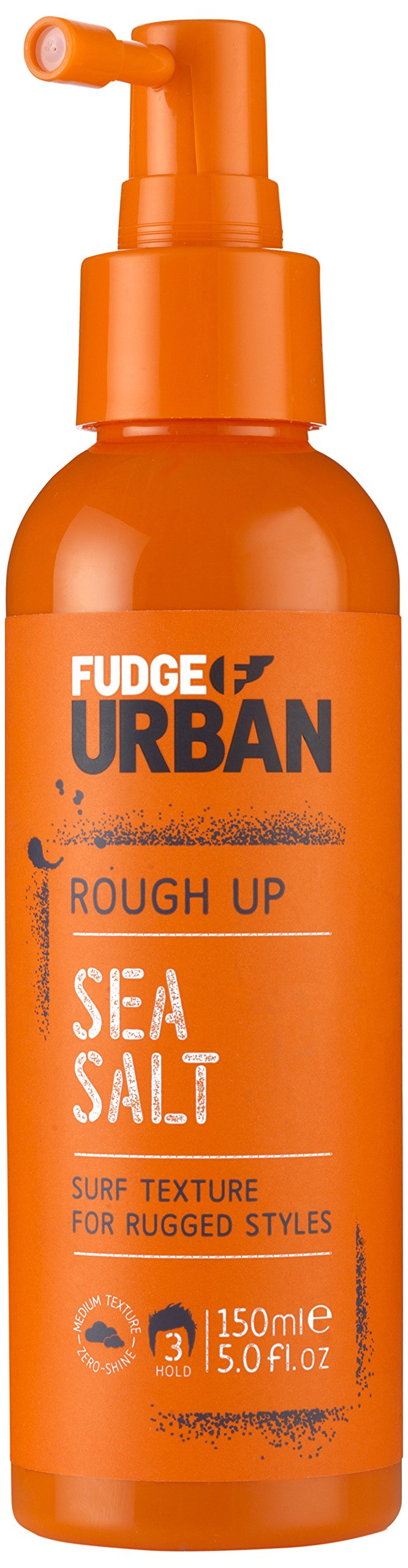 Fudge Urban Salt Spray, Texturising Sea Salt Spray, Mineral Rich Hair Styling Product Adds Volume and Flexible Hold for Men and for Women, 150 ml