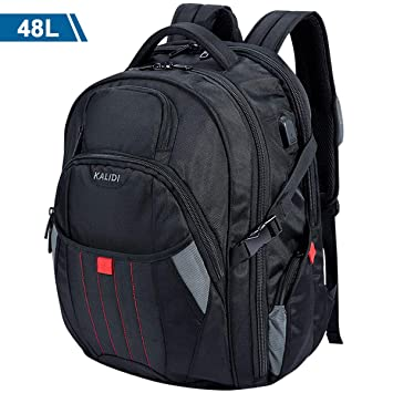 Carcasa de mochila de viaje mochila USB kalidi - Mochila ...