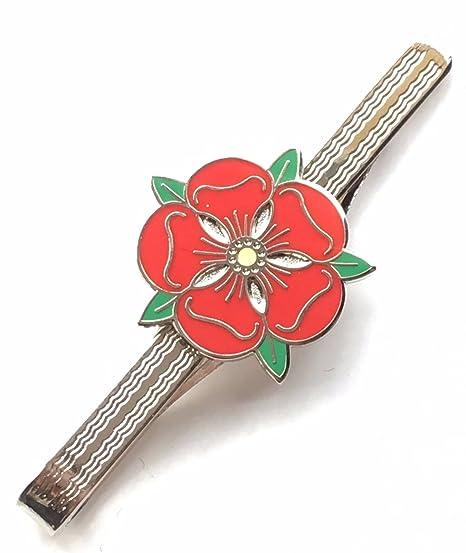 Personalizado con Lancashire Rosa Roja Esmaltado adornado Alfiler ...