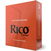 Rico by D'Addario Alto Sax Reeds, Strength 2.0, 10-pack