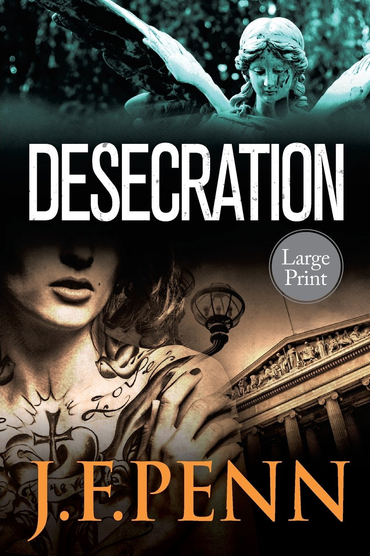 Desecration: Large Print Edition (London Psychic Large Print) (Volume 1) ebook
