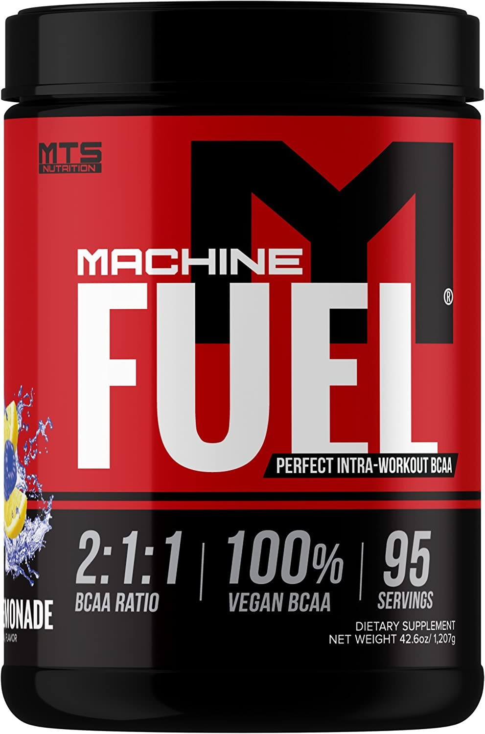 New MTS Nutrition Machine Fuel 95 servings Blue Razz Lemonade