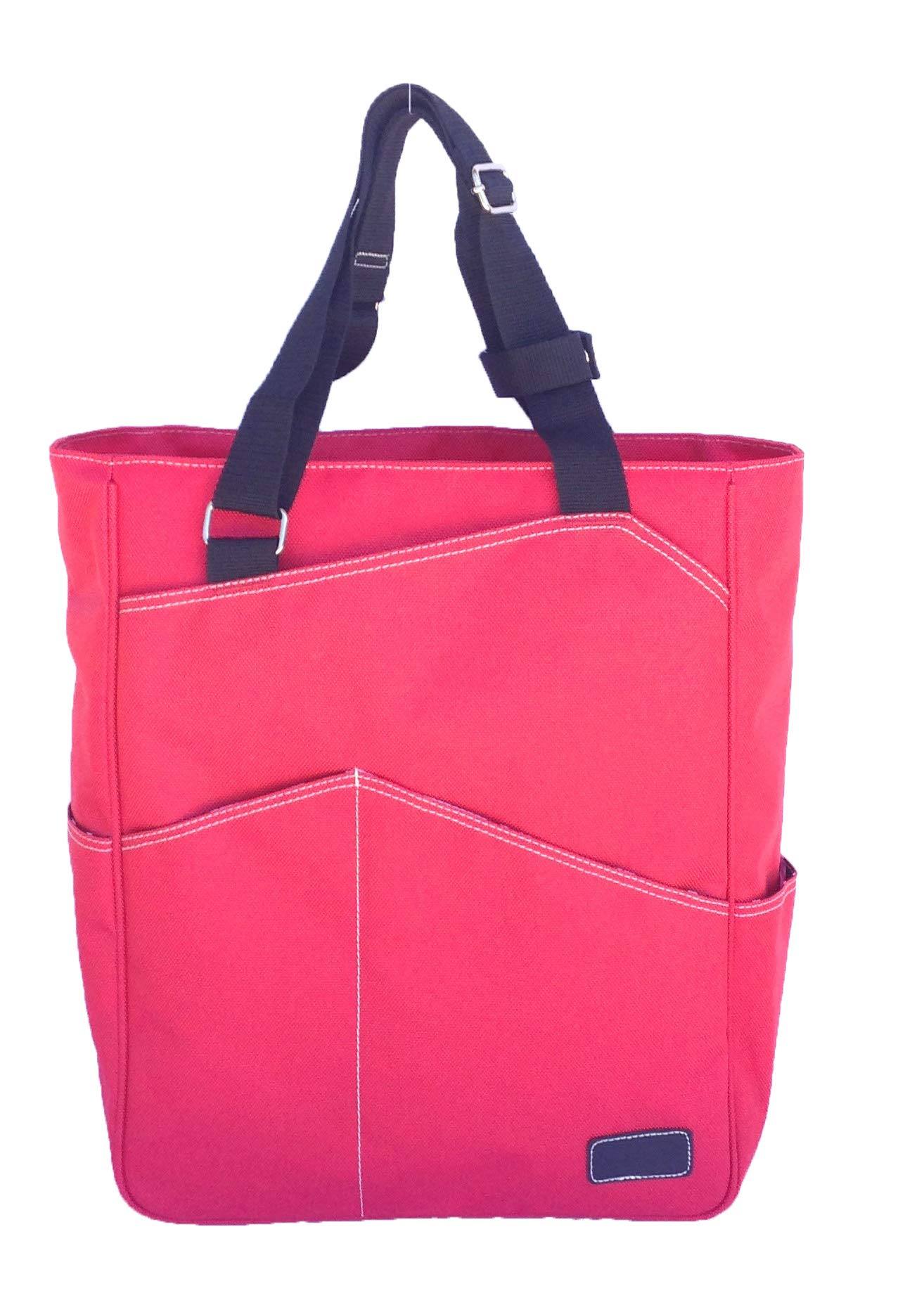 Maggie Mather Tennis Tote, Travel Tote (Coral) New Zipper Closure