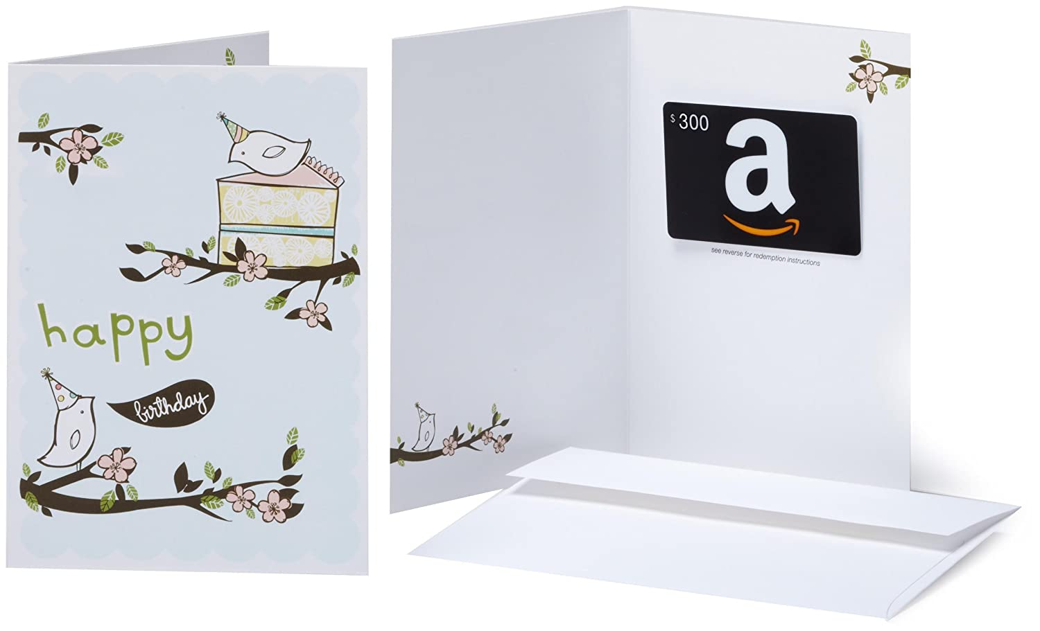 .com Gift Card in a Greeting Card