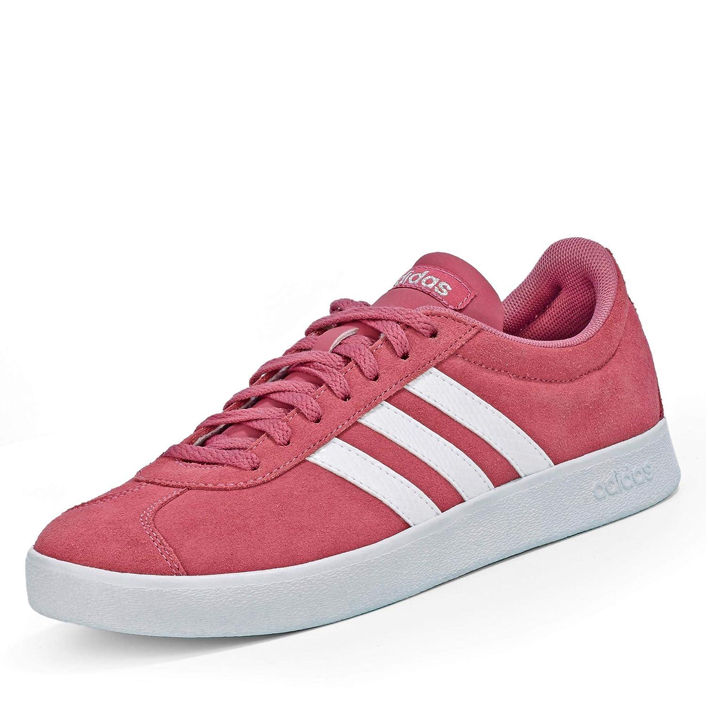 Adidas VL Court 2.0, Chaussures de Skateboard Femme