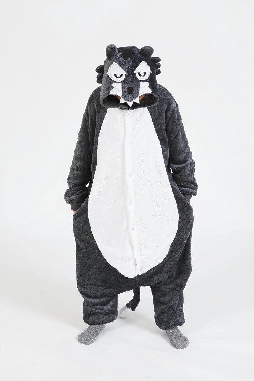 Childrens Halloween Costumes Cosplay Wolf Kigurumi Cartoon Jumpsuit Playsuit