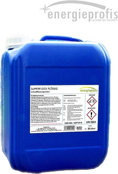 Floculante líquido Superflock para piscinas, 10 litros: Amazon.es: Jardín
