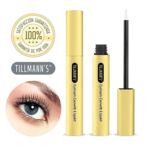 Tillmanns® Serum Pestañas - Crece Pestañas Tratamiento - Para Tener Pestañas Largas Y Volumen