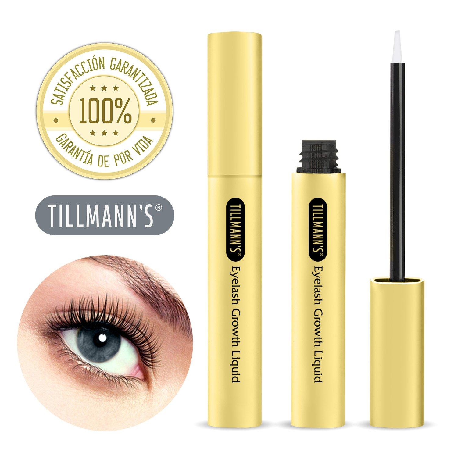 Tillmann\'s ® Serum Pestañas - Crece Pestañas Tratamiento - Para Tener Pestañas Largas Y Volumen