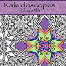 Coloring for Adults: Intricate Kaleidoscope patterns