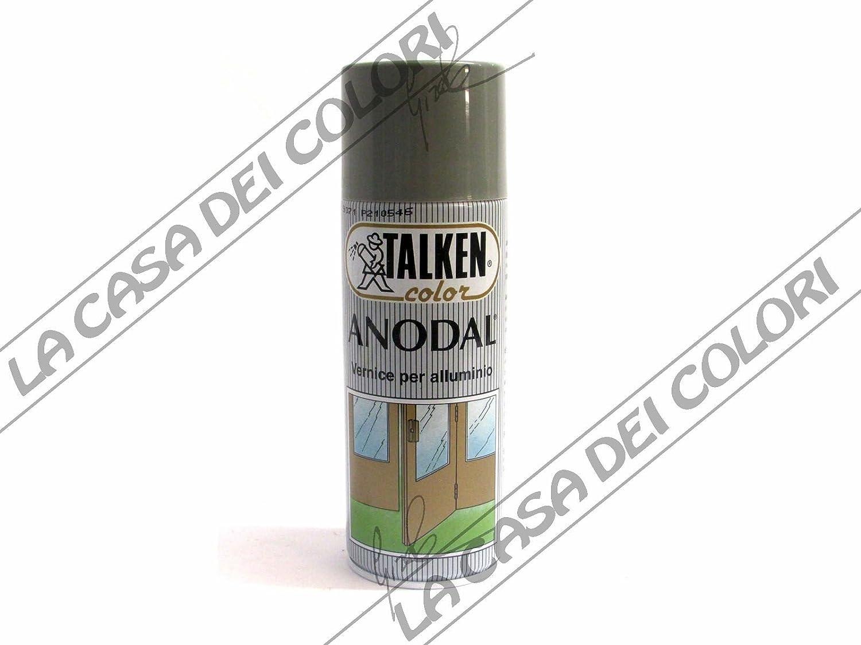 Talken Spray Anodal Colori A Scelta 400 Ml Vernice Per Alluminio 9072 Bronzo Chiaro Anodizzato Amazon It Fai Da Te