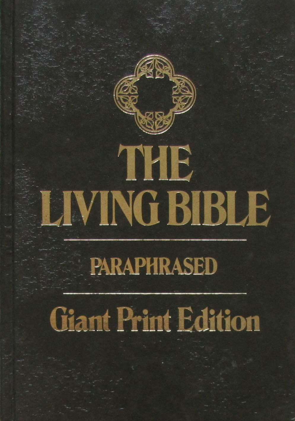 The Living Bible Paraphrased Large Print Edition Tyndale House Publisher 9780842322614 Amazon Com Books Audio