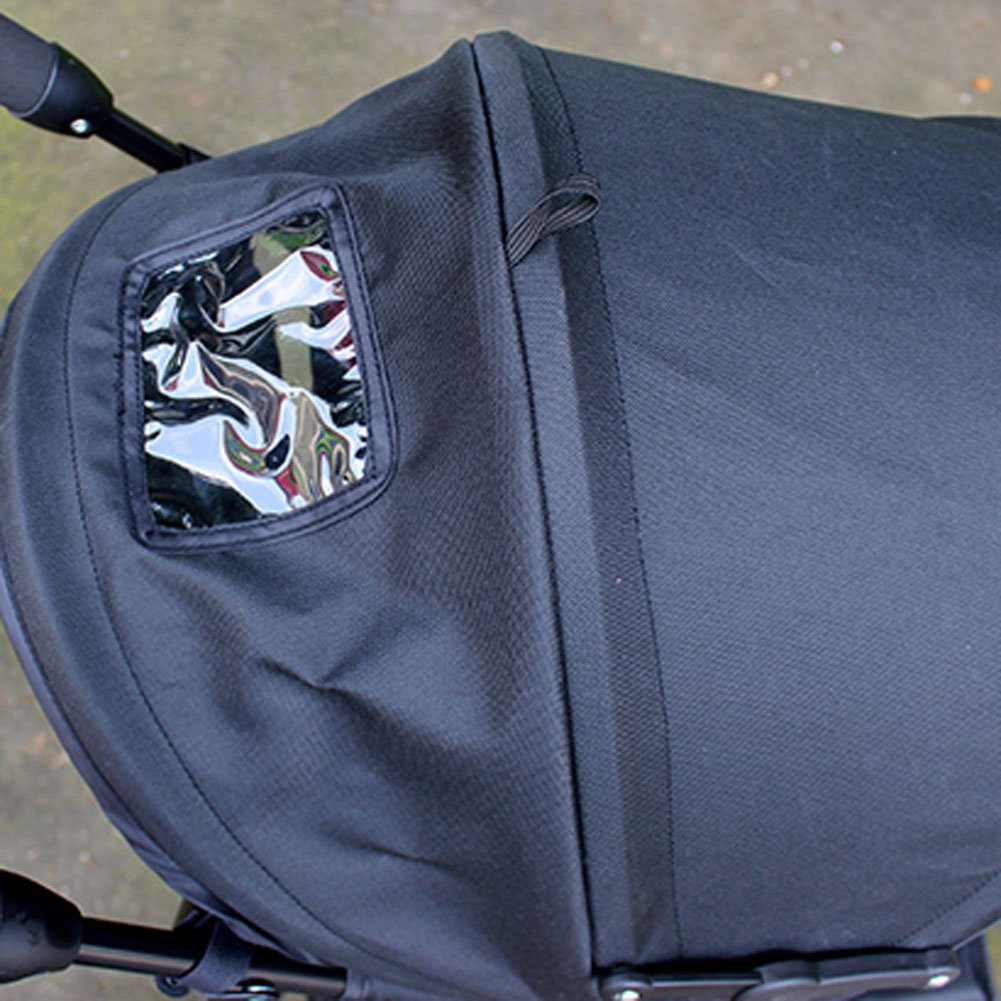 [RED] Baby Stroller Sunshade Maker Infant Stroller Canopy Cover by Panda Superstore (Image #2)