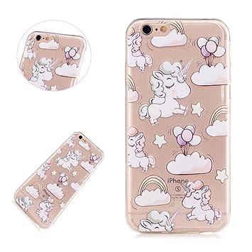 custodia iphone 6 unicorno